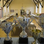 Trophies at Ixworth Fruit and Flower Show 2012