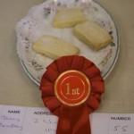 Rosettes at Ixworth Fruit and Flower Show 2012