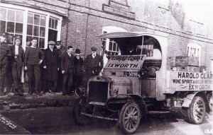 A Harold Clarke delivery to the Scole Inn