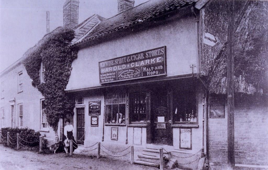 Harold Clarke's shop circa 1910