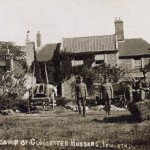 The Gloucester Hussars' Camp at the Beeches