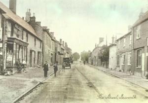 Ixworth Village High Street 1900