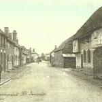 Ixworth Village Stowmarket Road 1900