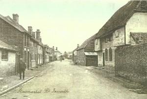 Ixworth Village Stowmarket Road 1900