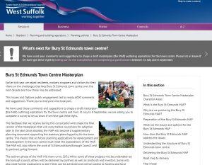 Bury St Edmunds Town Centre masterplan